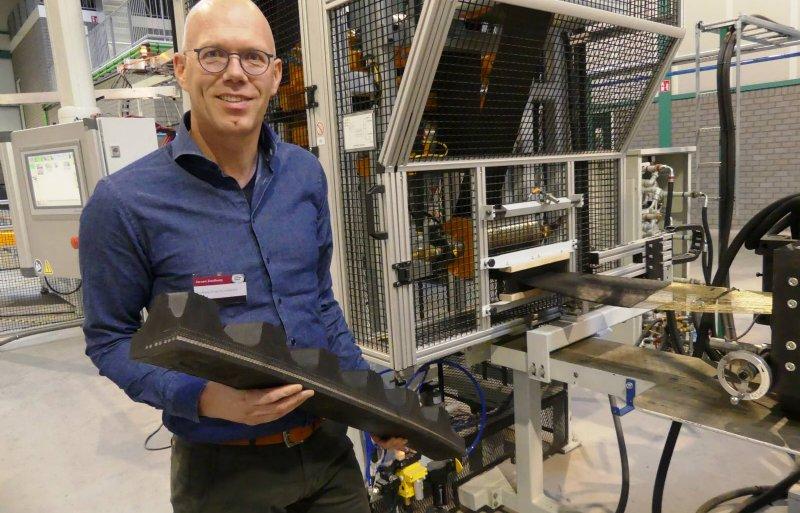 Jeroen Zuidberg heeft de leiding over de onderneming in Ens.