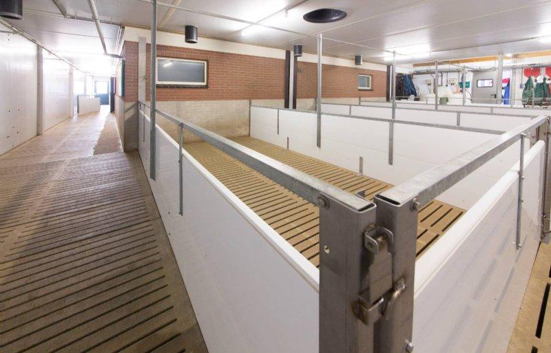 Een afleverruimte is goed inzetbaar voor de noodhuisvesting.
