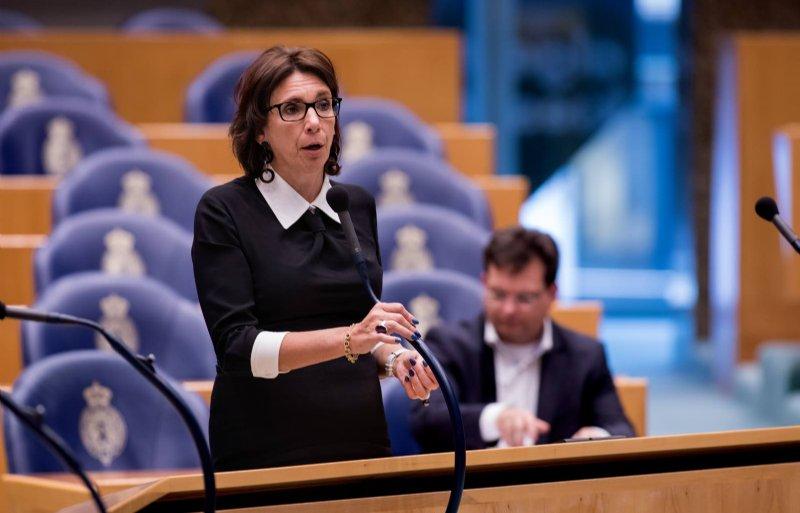 Helma Lodders van de VVD.