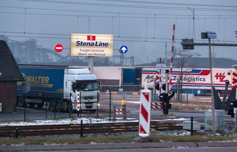 Bij de ferryterminal in Hoek van Holland moet een green lane komen.