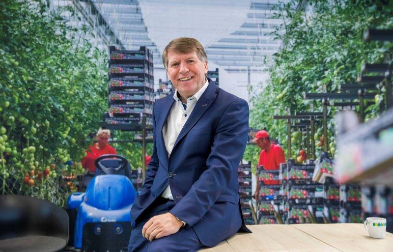 Sjaak van der Tak voorzitter van Glastuinbouw Nederland.