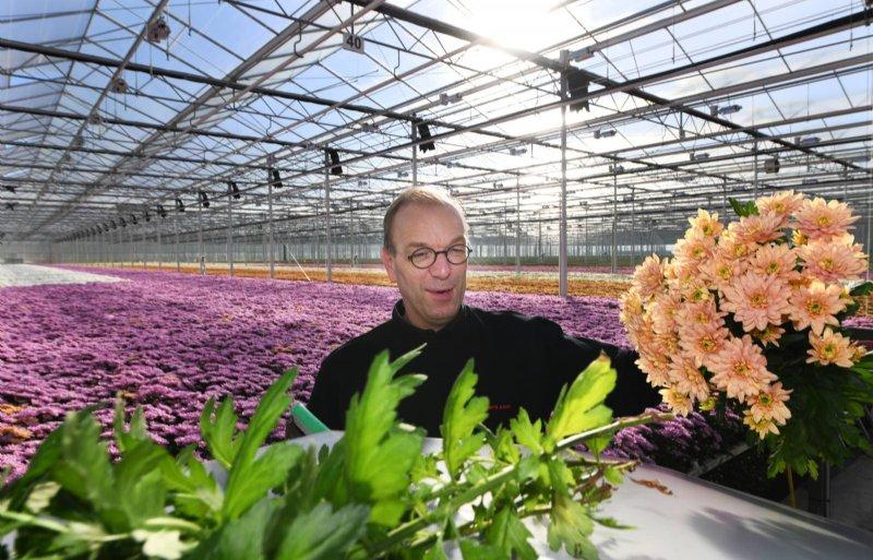 Rochus van Tuijl van het glastuinbouwpact is blij met de grote animo bij tuinders.