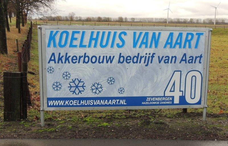 Van Aart breidde vooral het koelbedrijf uit.