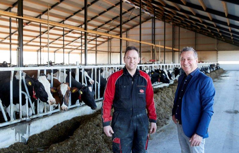 Caspar van Veldhoven (links) en Paul Balemans van ZLTO begonnen zeven jaar geleden aan het verhuisproces.