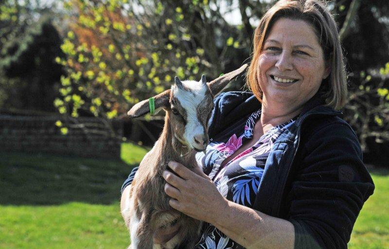 Doel van Lydia van Beek is om tot de tien best producerende geitenbedrijven in Nederland te horen.