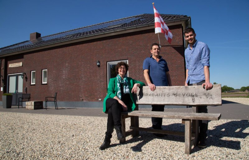 Gerdi, Patrick en Roy Ketelaars van Het Brabants Gevoel.