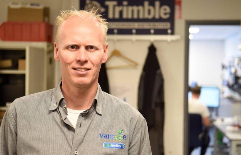 Directeur Dennis Nijland van Vantage Agrometius vindt dat gps klanten niet moet binden.