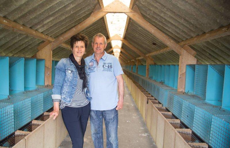 De sheds bij Marion en Rini van den Broek staan (tijdelijk) leeg.