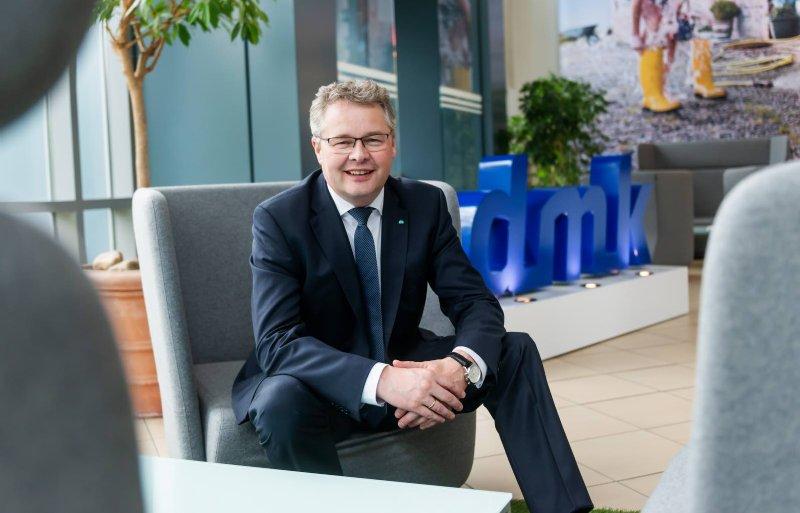Ingo Müller, ceo van de Duitse zuivelcoöperatie DMK Group, moederbedrijf van het Nederlandse DOC Kaas.