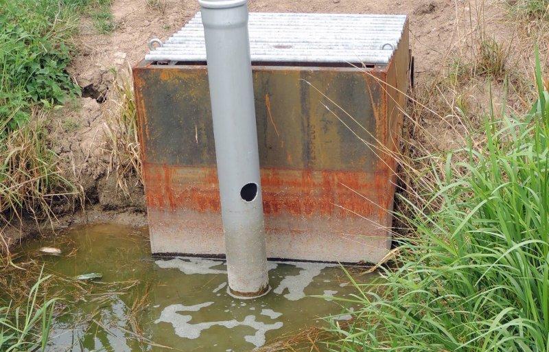 De peilgestuurde drainage bevalt goed.