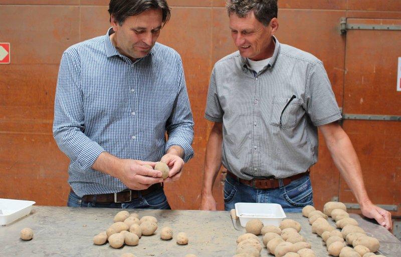 Joop Esselink (Wageningen UR) en Leen Struik (UPL)