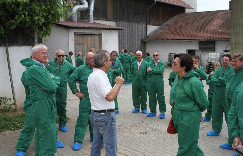 Kennis delen, onder andere via excursies, is een belangrijk element binnen de EPP.