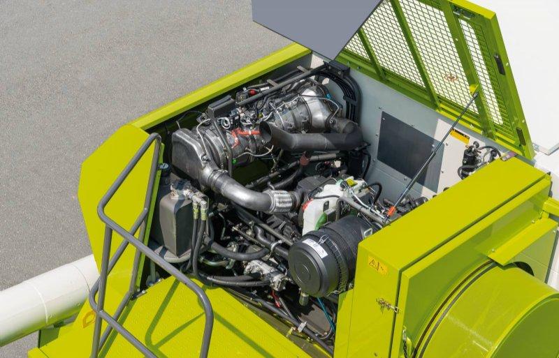De Avero 240- en 160-maaidorsers voldoen met de nieuwe Cummins-motor van 6,7 liter aan de Stage 5-emissie-eisen.