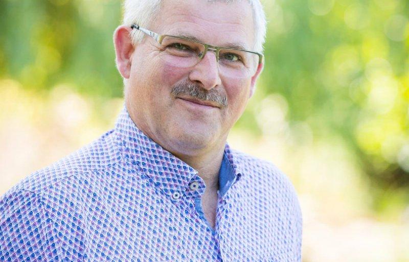 Theo Coumans van Turkey Farm in Ospel.