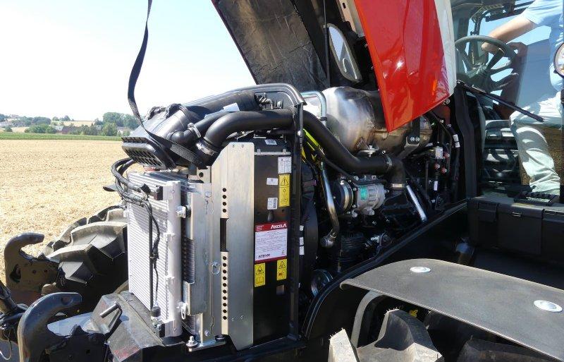 Het SCR-emissiesysteem is nu zo compact gebouwd dat hij onder de motorkap van de Expert past.