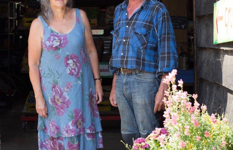 Maria Rössler en Frans van Laer van Boerderij Moervliet in De Rith.