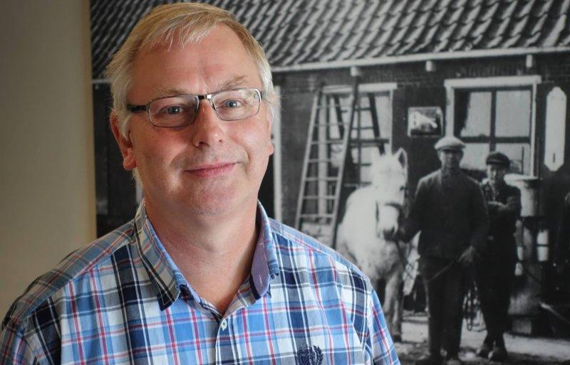 Onderzoeker Gerjan Hilhorst van melkveeproefbedrijf De Marke in Hengelo.