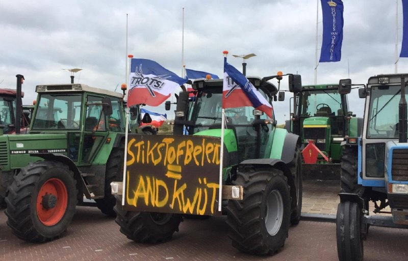 Boerenprotest Agractie Noordwijk 2