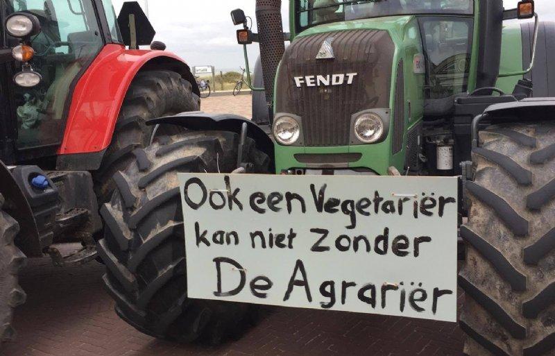 Boerenprotest Agractie Noordwijk 4