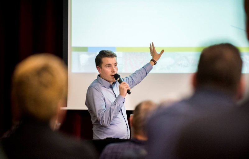 Themaspecialist Michael van der Schoot van LTO Nederland.