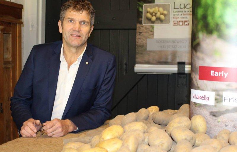 Gerard Bovee zegt dat Plantera alleen aardappelrassen op de markt brengt die goed smaken.