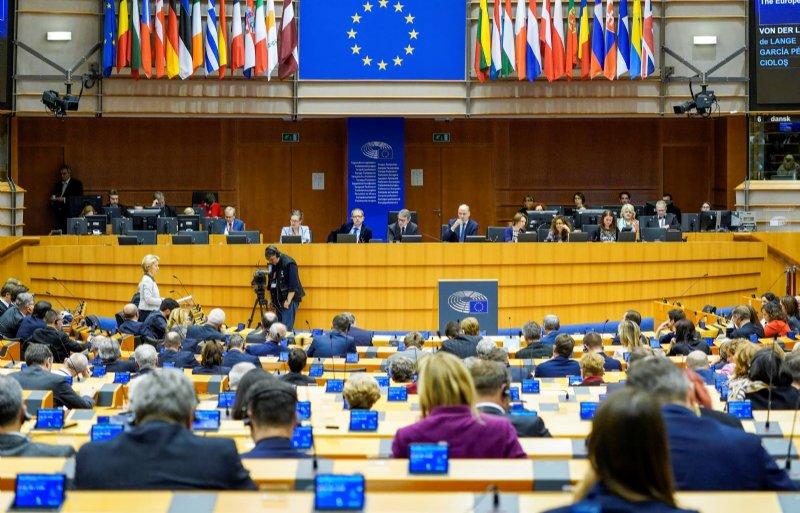 De eerste schets van de Green Deal werd woensdag gepresenteerd aan het Europees Parlement.