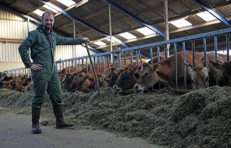 Bartele Holtrop houdt zijn droge koeien en jongvee op enkele kilometers afstand.