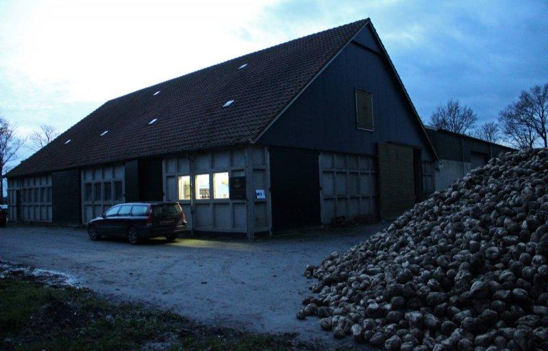 Het licht brandt in de huidige brouwerij.