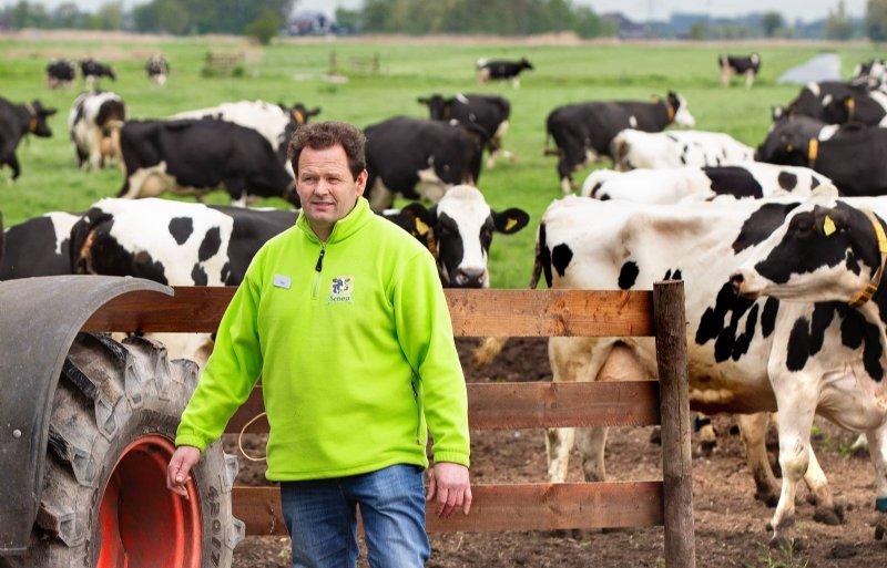 Voorzitter Jaap Schep van Stichting Kavelruil Zuid-Holland.