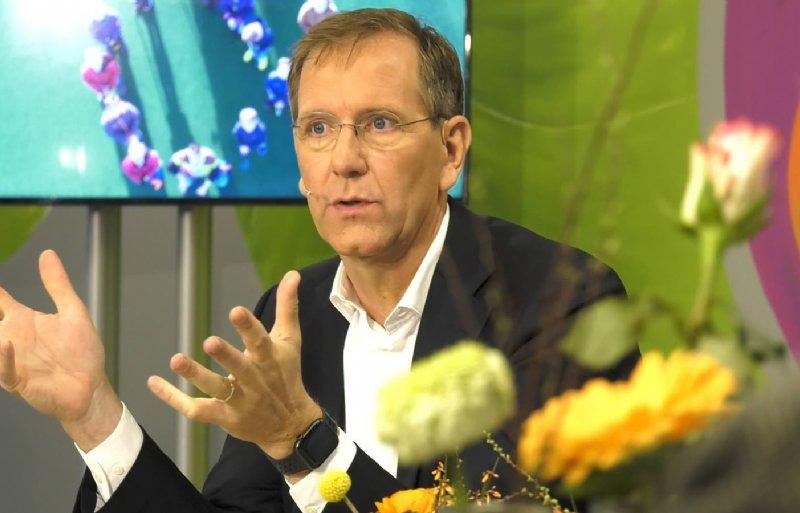 Bestuursvoorzitter Wiebe Draijer van Rabobank Nederland.
