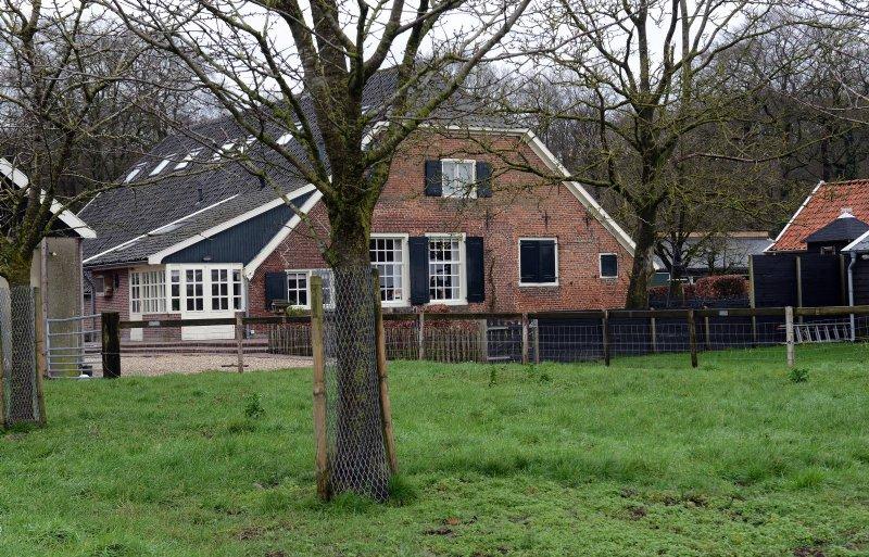 De boerderij van Levi en Lisette de Lange in Leersum.