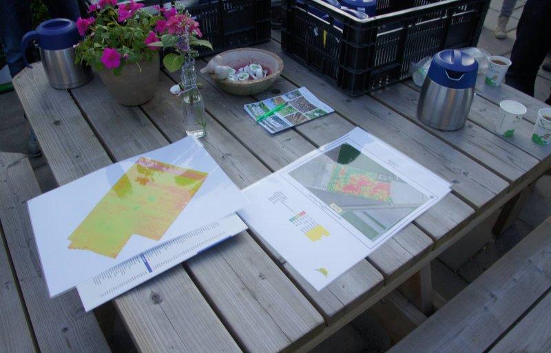 Met de kaarten op tafel kan de teler variatie in behandelingen bepalen.