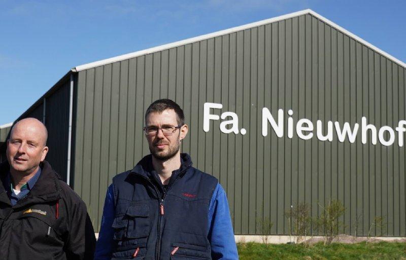 René Schouten en Jeroen Nieuwhof.