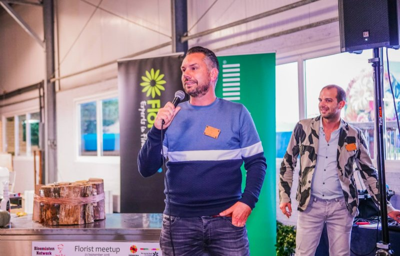 Jan Huisman, mede-oprichter van De Vakbloemist en het Bloemisten Netwerk.