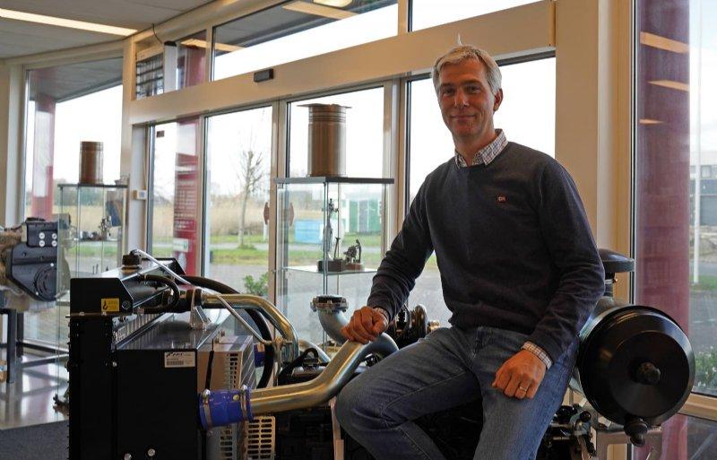 Directeur Quintus Meijer: 'Een dieselmotor kan bij goed onderhoud wel 30.000 uur meegaan.'