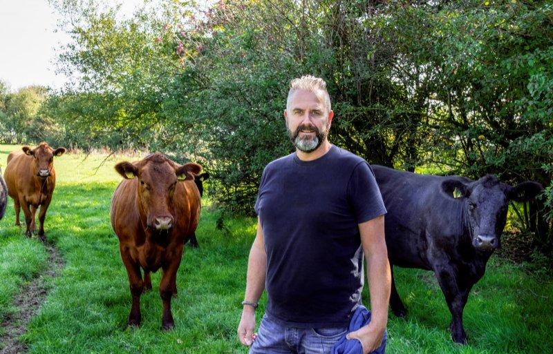 Bestuurslid Bauke van der Veen van Vereniging Flevofood.