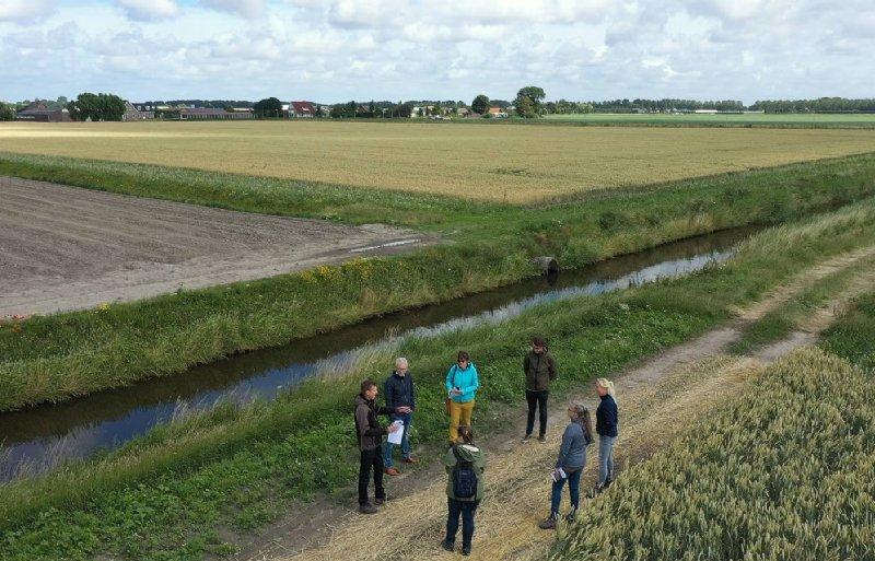 Foto bijeenkomst Akkerbelt in de Haarlemmermeer