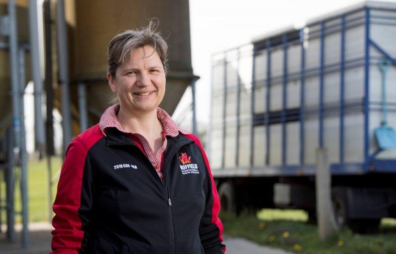 Ruth van der Haar ziet het gemiddelde geboortegewicht van biggen op het zeugenbedrijf stijgen.