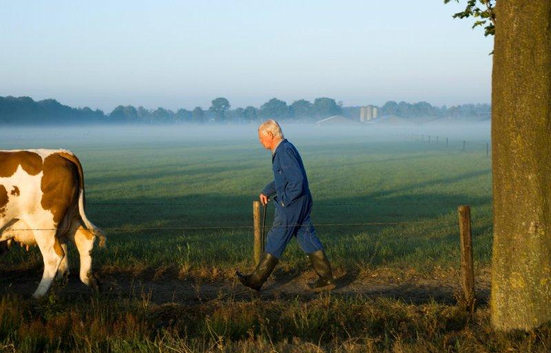 Ries Somers helpt zijn broer, zodat hij zo lang mogelijk kan blijven boeren.
