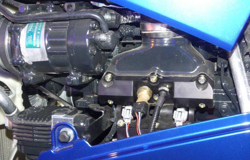 De trekker bepaalt zelf de juiste verhouding tussen waterstof en diesel.