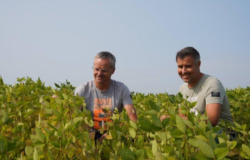Peter Millenaar (links) en Martijn van Alphen willen de Apple van de spuitenwereld worden met hun technologie.