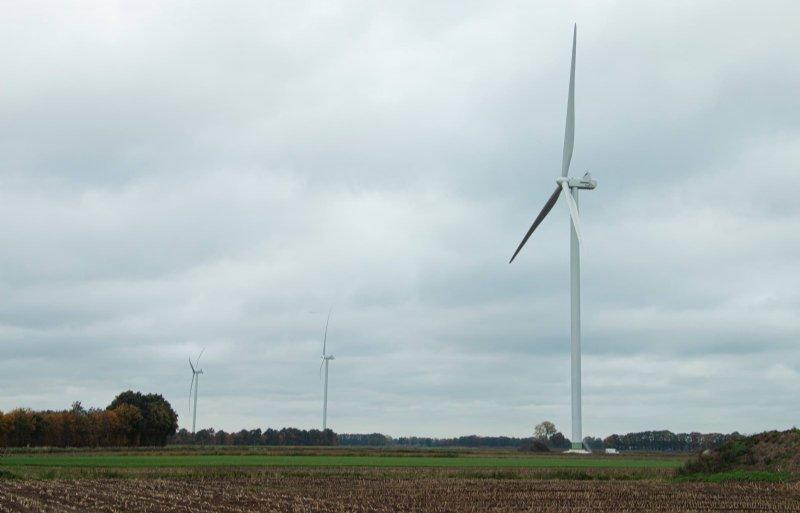 Windunie is ook betrokken bij de realisatie van deze windmolens bij Coevorden. Foto: David Hilberink