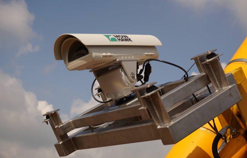 Een modulair camerasysteem op de maaibak van een maaizuigcombinatie faciliteert natuurinclusief bermbermbeheer.