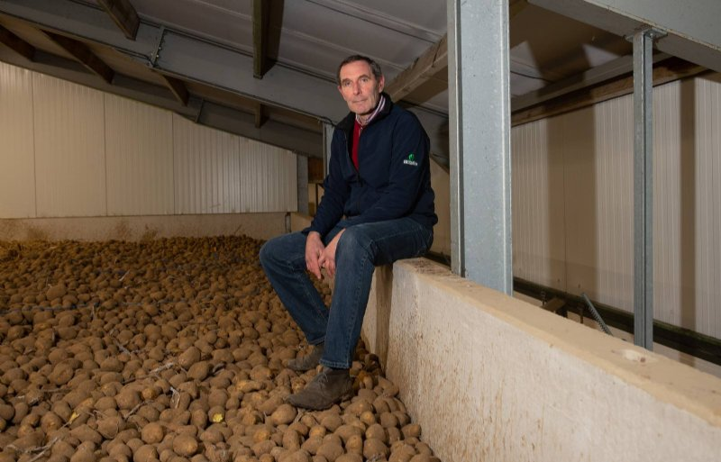 Mathieu Vrancken, akkerbouwbestuurder van de Belgische Boerenbond.