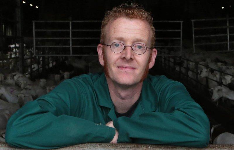 Jos Tolboom, geitenhouder in Hoogland