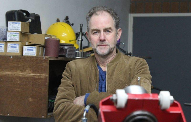Leon Koppers bedacht het koppelsysteem EasyLink in 2014.