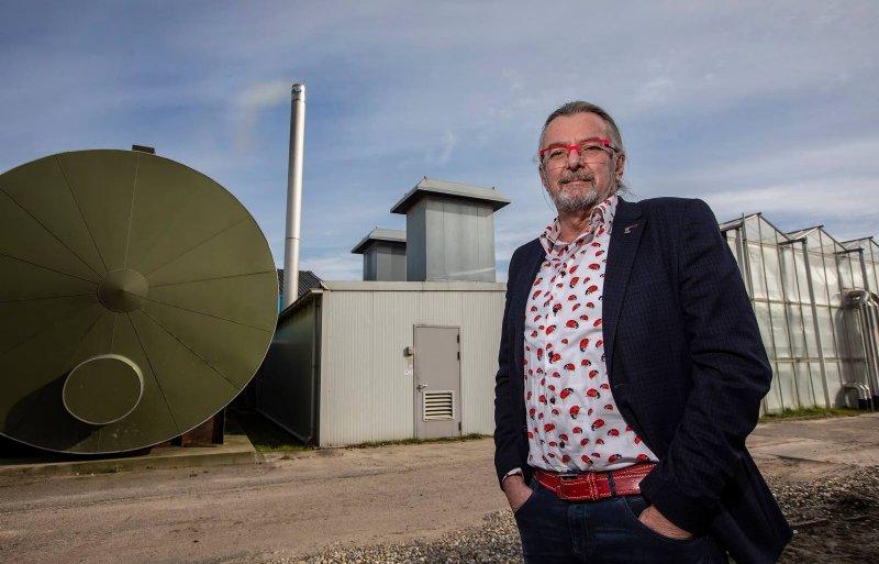 Vanwege de ODE-heffing heeft glastuinbouwondernemer Rob Baan zijn WKK weer aangezet.