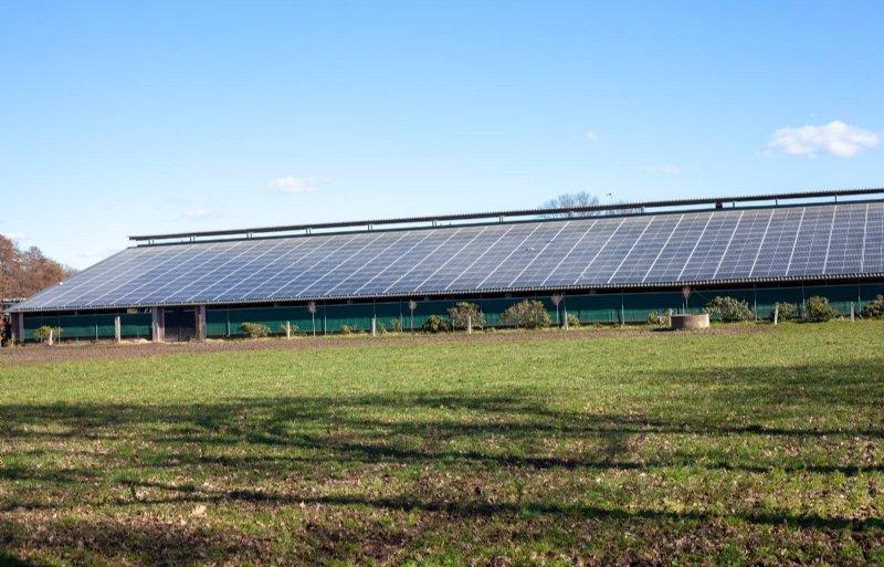 Gerjan en Marianne Berenbroek lieten hun asbestdaken renoveren en zonnepanelen plaatsen.