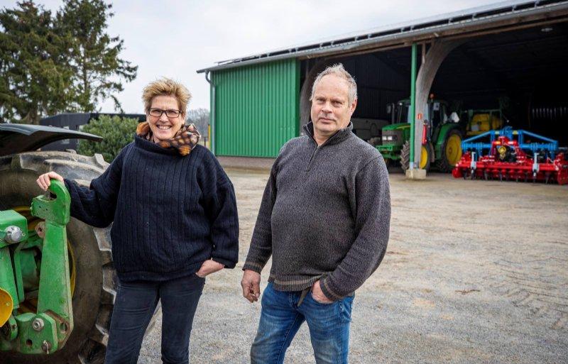 Loes en Rob Ingenbleek staan in de startblokken voor het nieuwe aspergeseizoen.