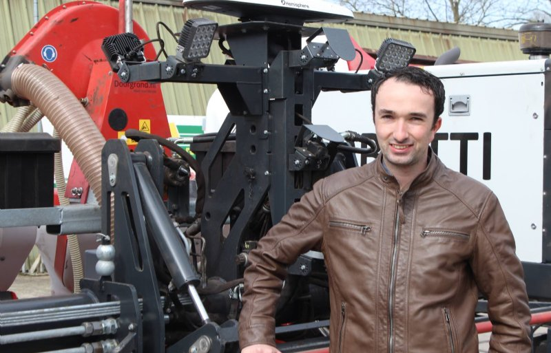 Volgens Jeroen Wolters van Doorgrond hebben veldrobots de toekomst.